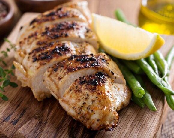 Grilled Lemon Chicken Featured