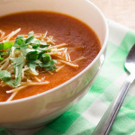 low-calorie, Crock-Pot, vegan tomato soup