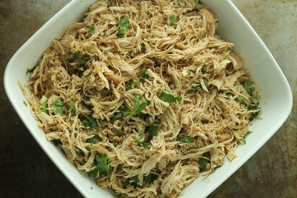 Crock-Pot Cilantro Lime Shredded Chicken