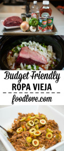 Budget Ropa Vieja for the Slow Cooker
