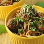 Turkey & Spinach Meatballs in Marinara