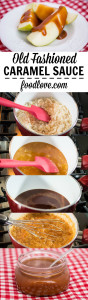 Old Fashioned Caramel Sauce, step by step!