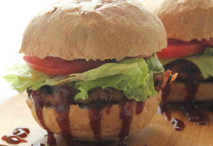 BBQ Turkey Burgers