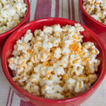 Flavored Homemade Microwave Popcorn
