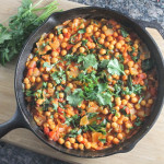 Chickpea and Spinach Curry