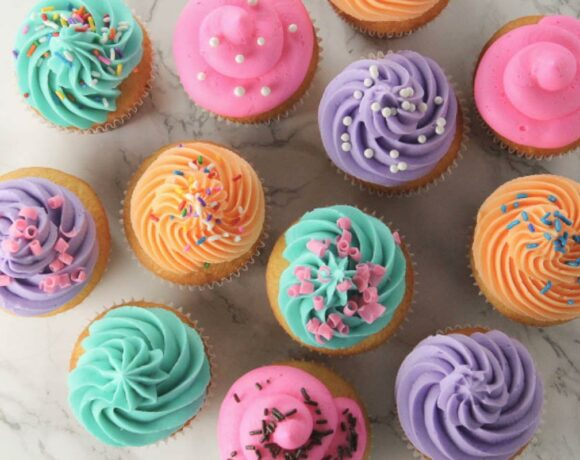 Bakery Style Cupcakes