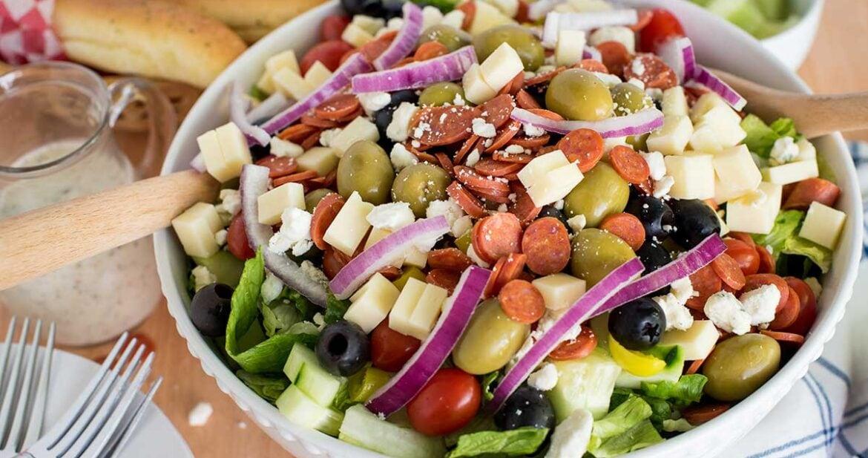 Chopped Antipasti Salad (