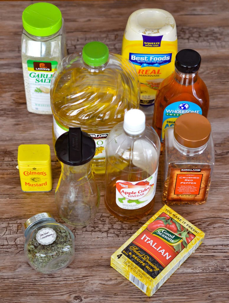 Olive Garden copycat Italian dressing is better than the version from the popular restaurant.