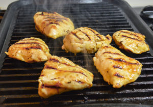 Easy lemon grilled chicken is perfect for a quick weeknight dinner.
