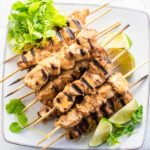 Grill up some chipotle lime chicken kabobs for an easy, low-calorie meal that's high in protein.