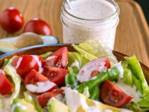 Mix up fresh ranch dressing any time with homemade ranch dressing mix or seasoning mix.