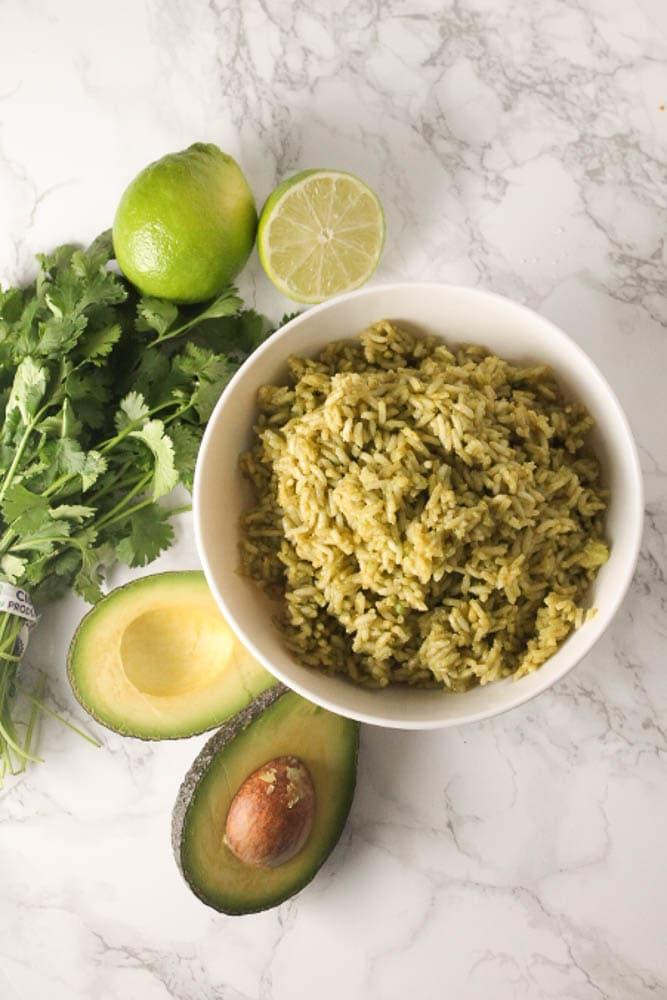 Avocado Green Rice