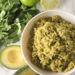 Avocado Green Rice