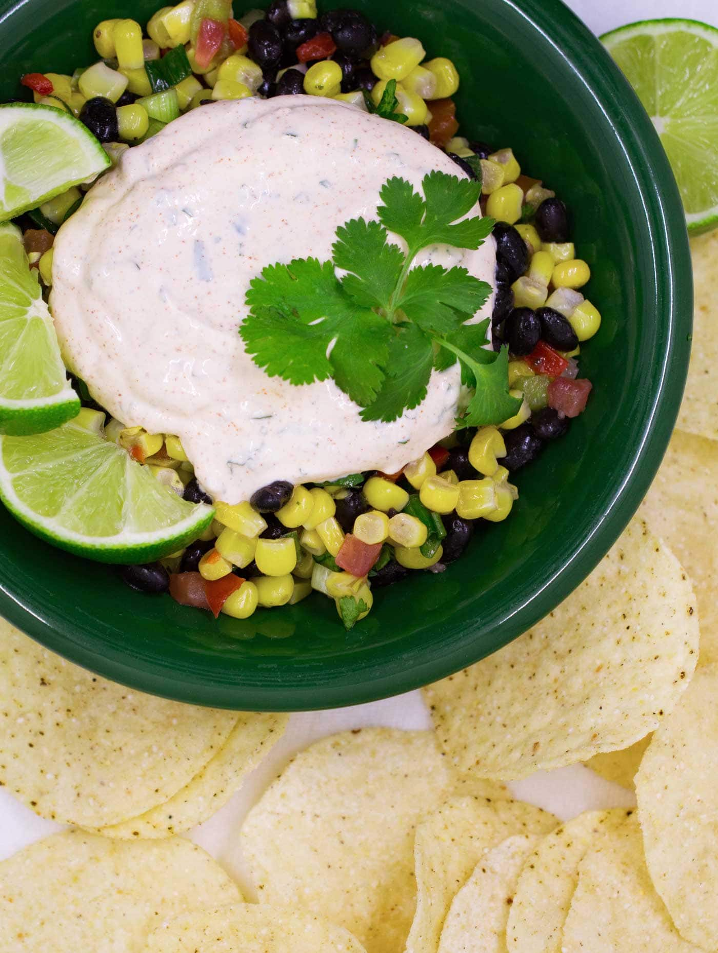 Chipotle Lime Crema adds creamy, spicy, citrusy goodness to tacos, burritos, enchiladas, grilled meats and more.