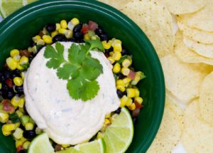 Creamy, spicy and citrusy Chipotle Lime Crema is a tasty topping for all kinds of Mexican cuisine.