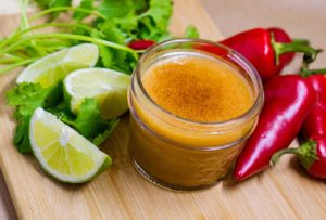 Chipotle Honey Lime Vinaigrette is sweet, tart and spicy - perfect for salads, grilled chicken, fish or shrimp.