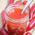 Homemade sweet chili sauce is sweet, spicy, and simple - perfect on chicken, shrimp, rice, or egg rolls.