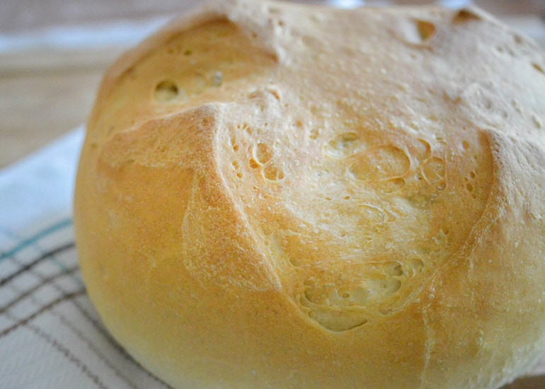 This easy artisan Spanish bread will become your new favorite bread recipe!