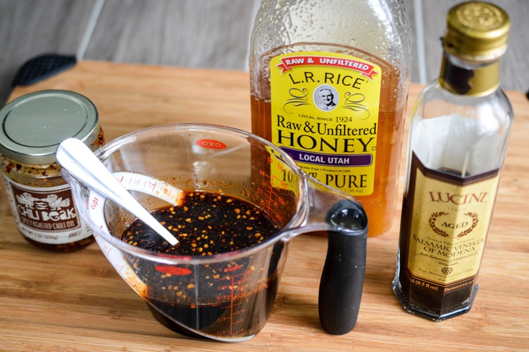 Crock-Pot Honey Balsamic Chicken and Carrots Ingredients