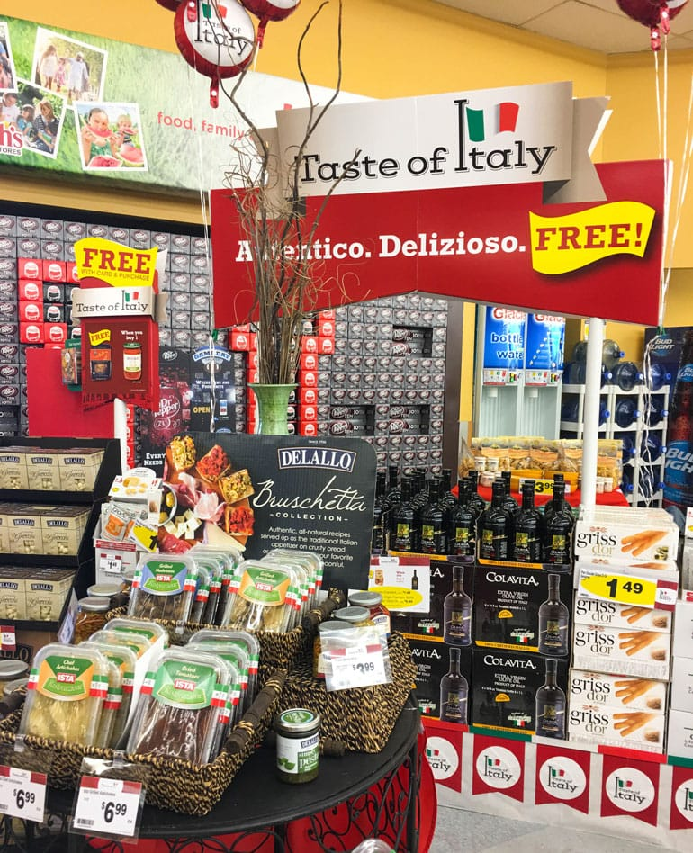 Smith's Taste of Italy event brings authentic imported ingredients to your neighborhood!