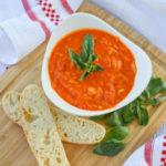 Tomato Basil Soup With Orzo