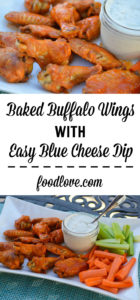 Get crispy, restaurant-style Buffalo wings from the oven with no messy deep frying! Perfect for Game Day or an easy dinner.