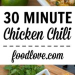 30 minute chicken chili