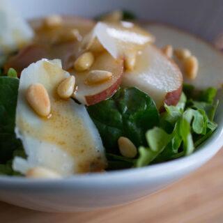 Italian Salad with Pears 8