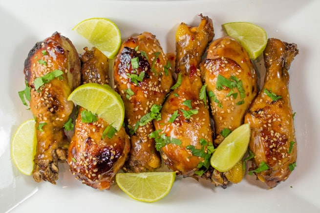 Crock-Pot Sweet Chili Chicken Drumsticks