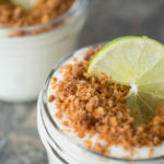 Greek yogurt key lime pudding is a healthier dessert with the bright, creamy flavor of key lime pie.