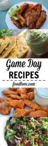 What are you planning to make for Game Day? Here's a list of FoodLove's favorite party recipes to give you some inspiration.