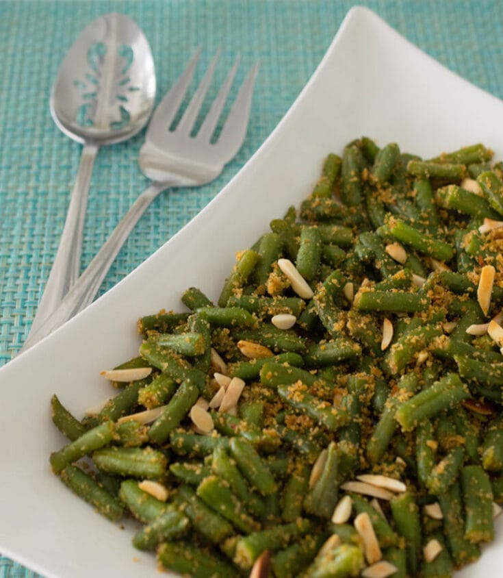 Green Beans with Breadcrumbs 6