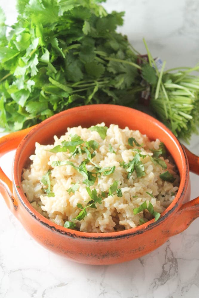 Cilantro-Lime Brown Rice