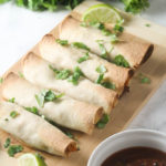 5 Ingredient Chicken and Black Bean Taquitos