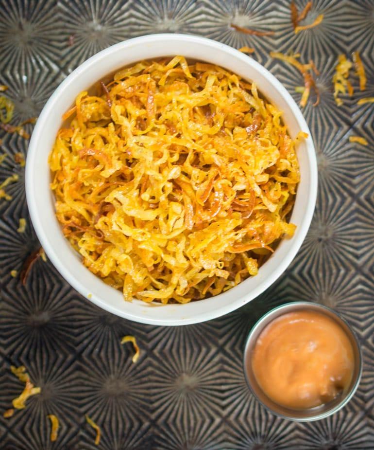 Spiral Sweet Potato Oven Fries