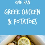 Greek Chicken Potatoes Pinterest 1