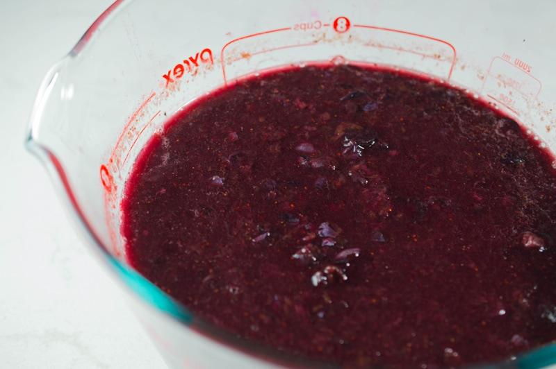 Homemade low sugar blueberry jam packs tons of fresh fruit flavor!