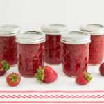homemade low sugar strawberry jam