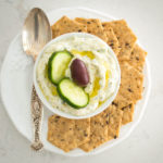 Authentic Greek Tzatziki Sauce (Yogurt and Cucumber Sauce)