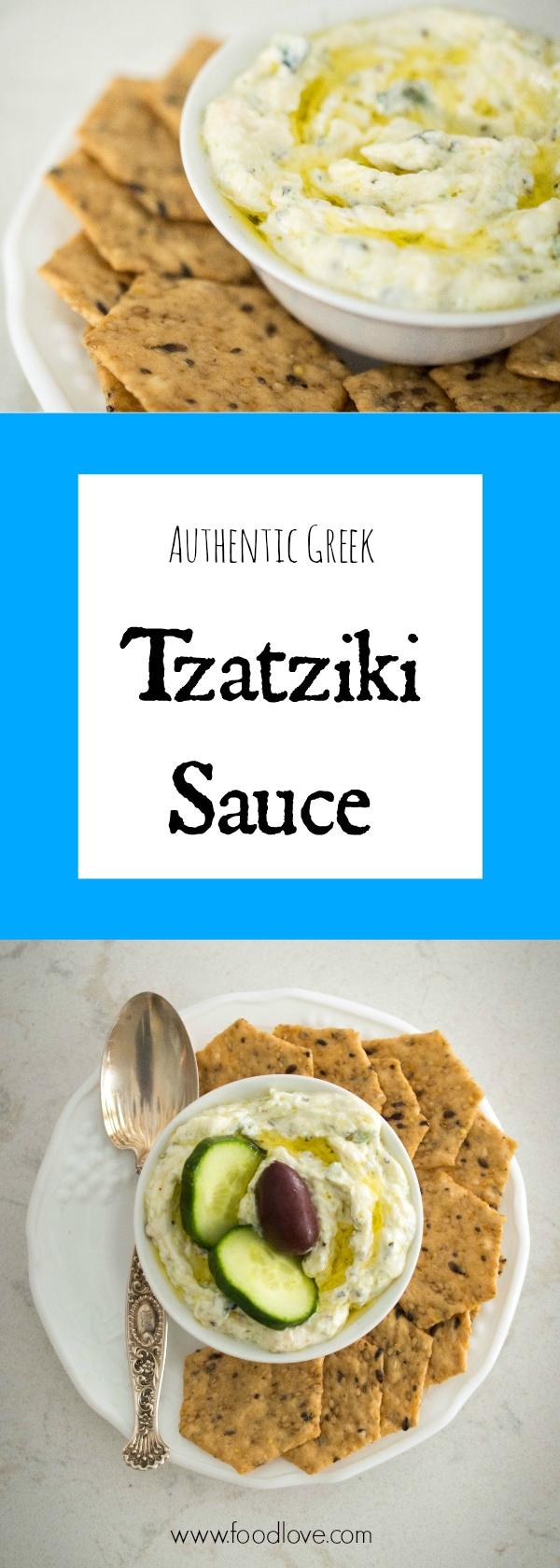 Authentic Greek Tzatziki Sauce