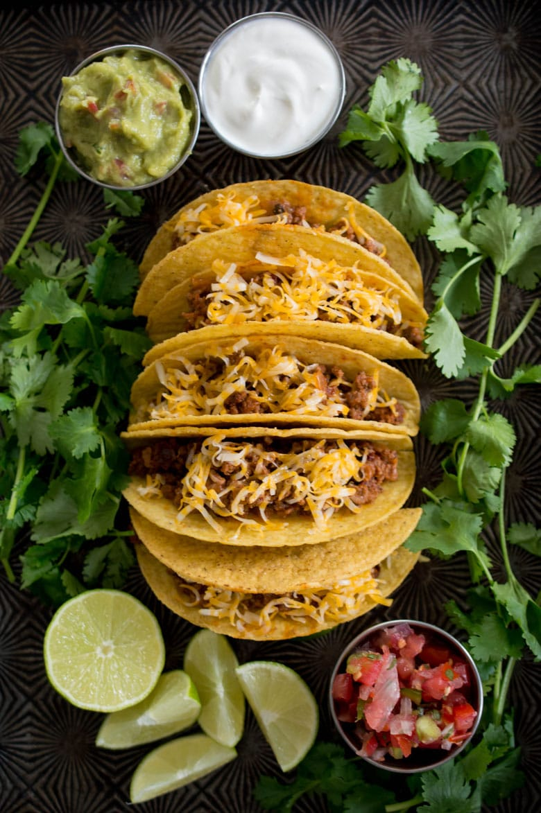 Classic, crowd-pleasing ground beef tacos from scratch will make you forget all about pre-made seasoning packets.