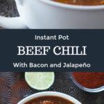 Beef Chili Pinterest