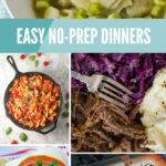 No Prep Dinners Pinterest 1