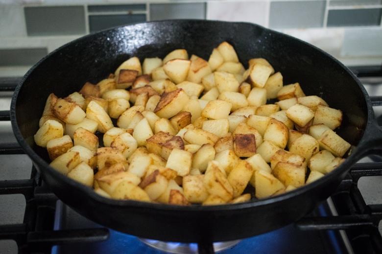 Instant Pot crispy potatoes