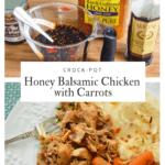 Crock Pot Honey Balsamic Chicken