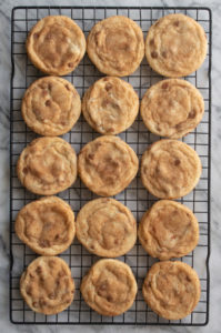 cooling cinnamon chip snickerdoodles