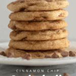Cinnamon Chip Snickerdoodles Pinterest