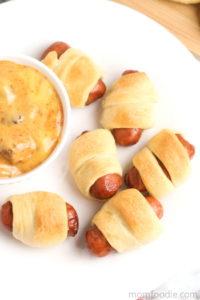 Little Smokies Pigs in a Blanket via Mom Foodie