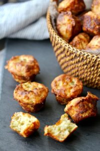 jalapeño cheddar mini muffins via Karen's Kitchen
