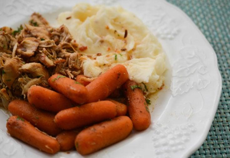 Crock-Pot Honey Balsamic Chicken and Carrots